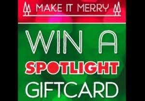 Spotlight Gift Card - pocket money savings chart stay at home mum