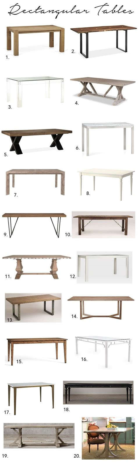 styles of dining tables 25 best ideas about dining tables on pinterest farmhouse dining room table diy dinning room
