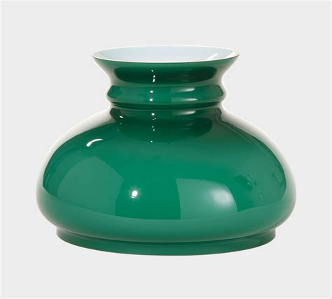 Glass Student L Shades by 7 Cased Green Glass Shade 00637 B P L Supply