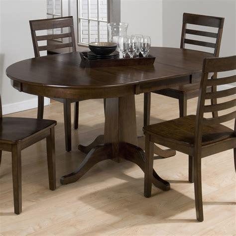 jofran webber 6 piece round pedestal dining room set in jofran 342 60 taylor cherry round to oval pedestal dining