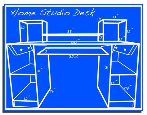 how to build a home studio desk how to build a home studio desk 28 images my build a