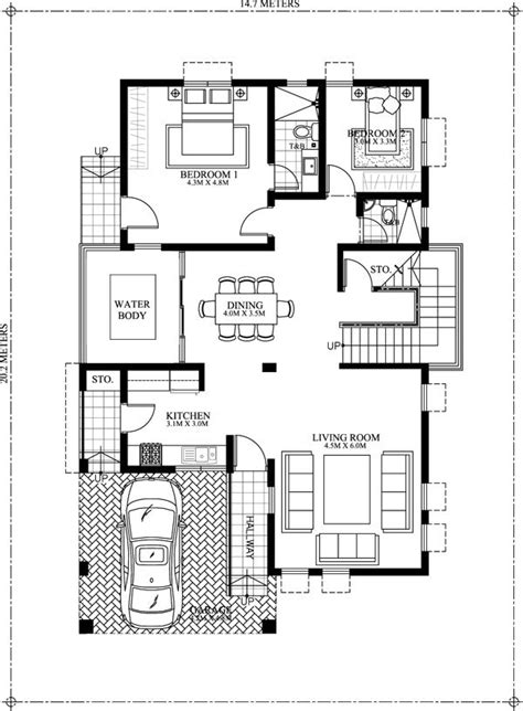 floor plan cost estimator 50 images of 15 two storey modern houses with floor plans