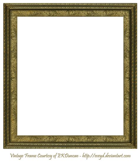 vintage square frame antique scroll frame square creation ekduncan by eveyd on deviantart