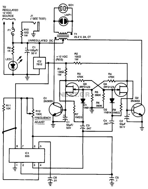 inverter oscillator circuit diagram inverter circuit power supply circuits next gr