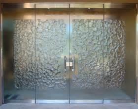 Glass stone frameless glass doors glass stone cast glass