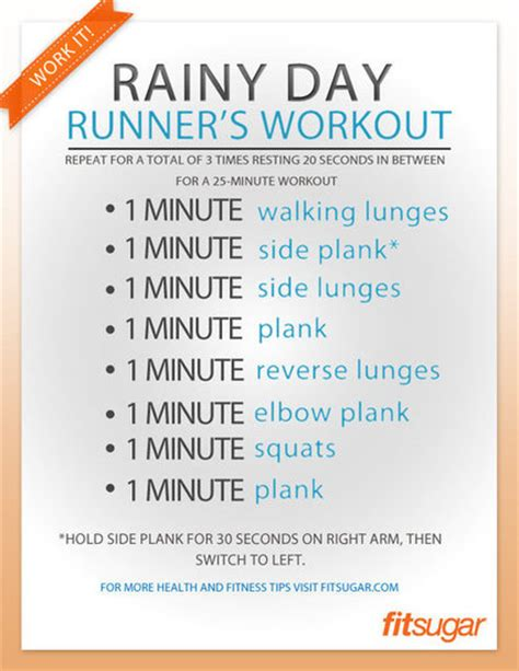 leg strengthening workout poster for runners popsugar