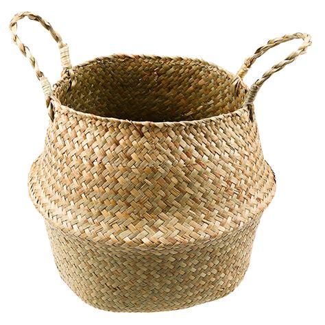 Handmade Baskets - nordic handmade woven basket kiyolo
