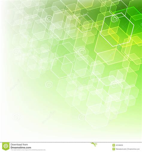 layout design green abstract background with green color stock illustration