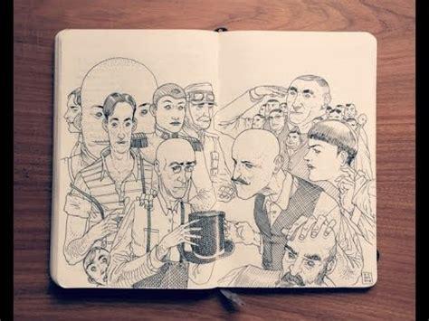 sketchbook illustration impressive sketchbook illustration drawings by jared
