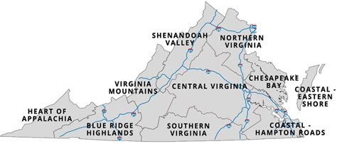 different virgina parks forests and tourism