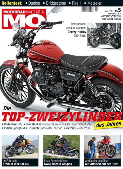 Motorrad Magazin 2016 motorrad magazin mo 5 2016 motorrad magazin mo