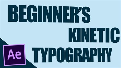 typography kinetic tutorial 1000 images about after effects on