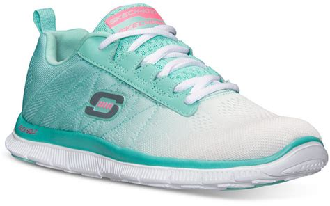 memory foam athletic shoes mint athletic shoes skechers shoes flex appeal memory