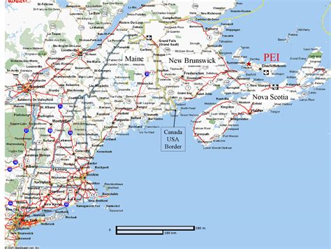 map eastern usa and canada map of eastern united states and canada