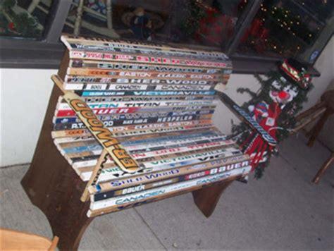 basics woodworking hockey stick bench design
