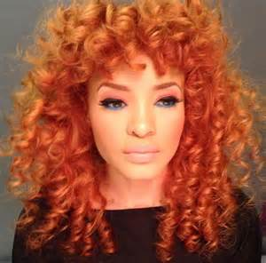 orange hair color 81 best orange crush images on hairstyles