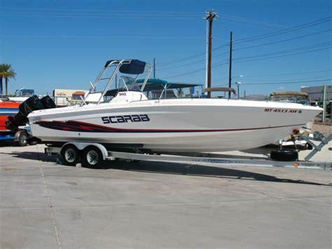 scarab boats arizona 1999 scarab 302 sport powerboat for sale in arizona