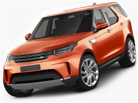 land rover model 2017 land rover discovery 2017 3d cgtrader