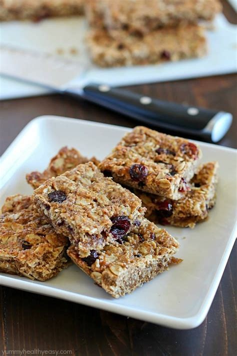 top 10 healthiest granola bars homemade healthy granola bars yummy healthy easy