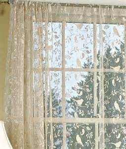 Bird Lace Curtains Pin By Alexandra Childs On Remodel Ideas
