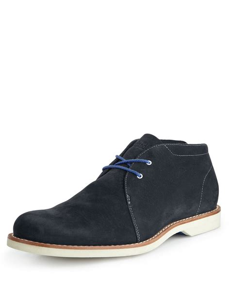 blue timberland boots mens timberland timberland stormbuck lite chukka mens shoes in
