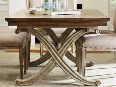 hooker furniture sanctuary dune amber sands 82 l x 42 traditional dining room tables luxedecor