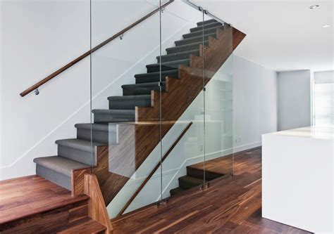 Townhouse Stairs Design Townhouse At 33rd And Mackenzie Contemporary Staircase Vancouver By Kodu Design