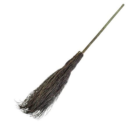 besom broom witches traditional broomstick leaf sweeping