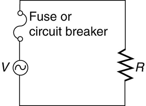 closing resistor in circuit breaker 20 6 electric hazards and the human college physics openstax