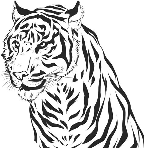 Free Printable Tiger Coloring Pages For Kids Tiger Coloring Book Pages