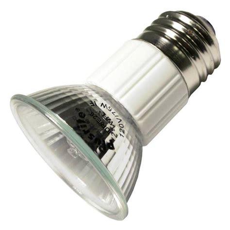 wide base light bulb plusrite 03476 jdr75 e26 wfl50 120v w cover 3476 mr16