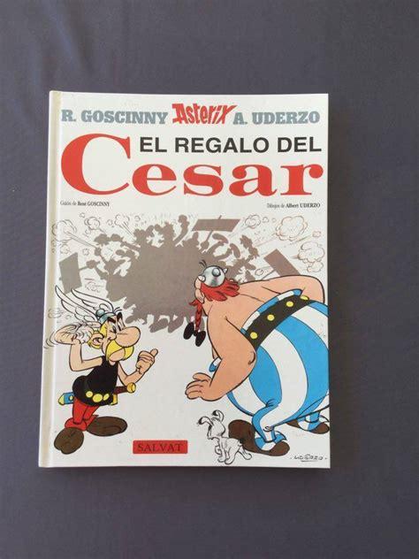 libro asterix libro quot asterix el regalo de cesar quot r goscinny a