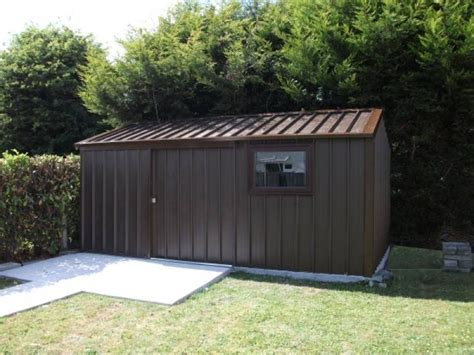 Small Insulated Shed 5m X 3m Steel Shed With Sliding Door Window