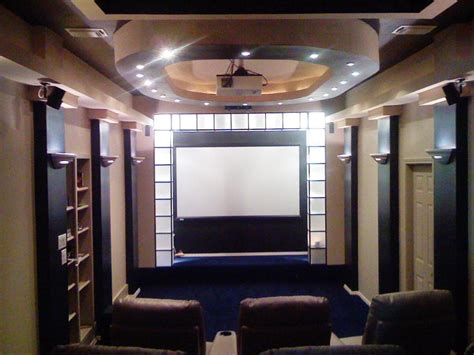 masculine  sports themed home theaters diy