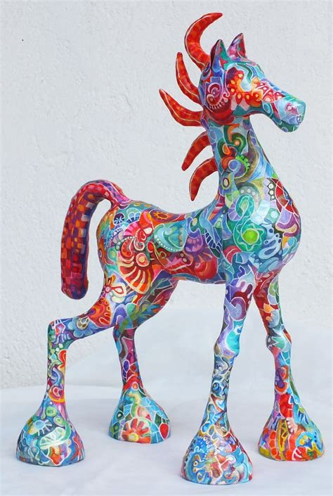 paper mache arts and crafts a new animals paper mache and
