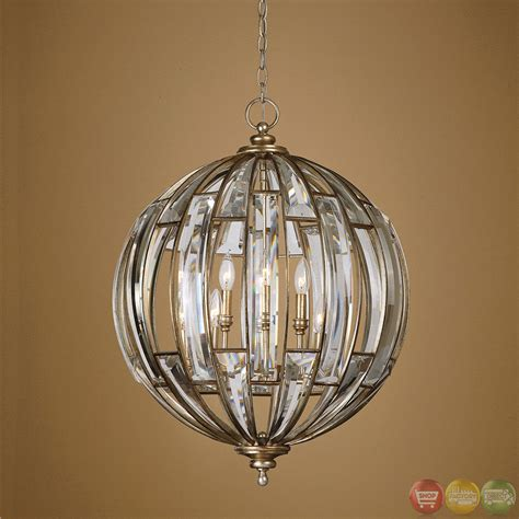 Sphere Pendant Light Vicentina Contemporary 6 Light Sphere Pendant 22031