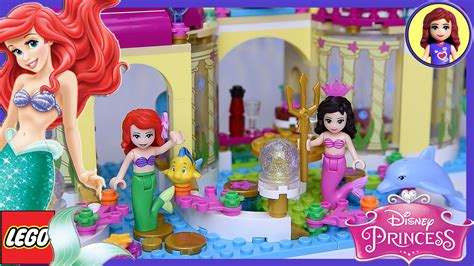 Lego Princess Ariel Mermaid Sy761c Ariel S Undersea Palace Mermaid Lego Disney