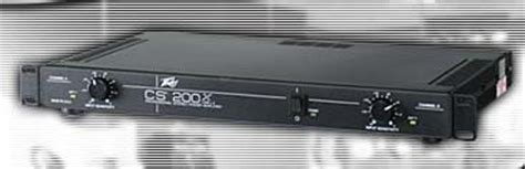 Peavey Cs 200 Wikizic