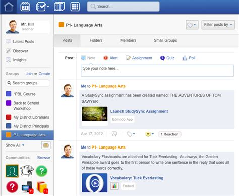 full version edmodo com getting started with the latest version of edmodo