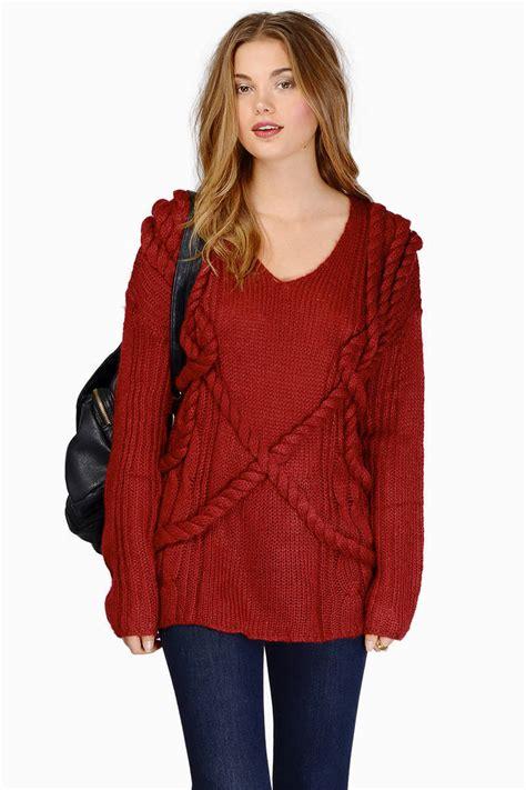 burgundy knit sweater burgundy knit sweater fashion skirts