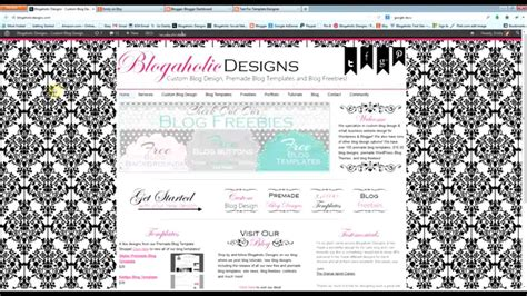 blog themes etsy how to install premade blog templates purchased from