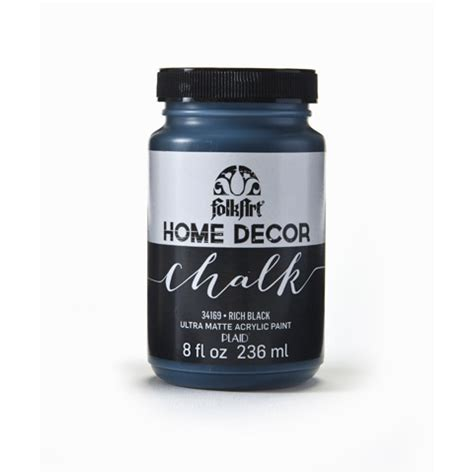 Folk Home Decor Chalk Paint by Rich Black Chalk Paint Folk 174 Home Decor