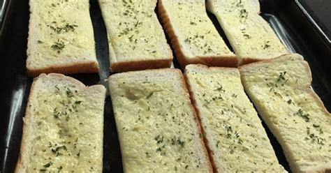 bahan untuk membuat garlic bread cara mudah buat garlic bread azyyati liah