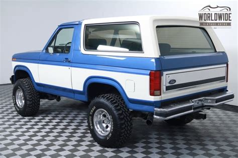 how to work on cars 1985 ford bronco electronic valve timing bronco ford 1985 vin 1fmdu15h3fla68368 worldwide vintage autos