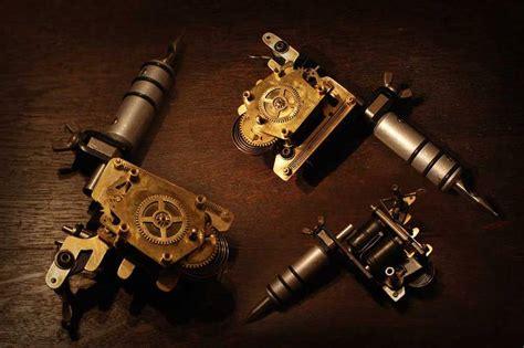 tattoo machine mechanics steunk artwork gallery