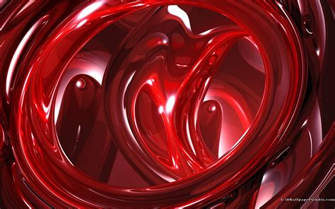 Wallpaper 3d Red | red 3d abstract wallpapers 1920x1200