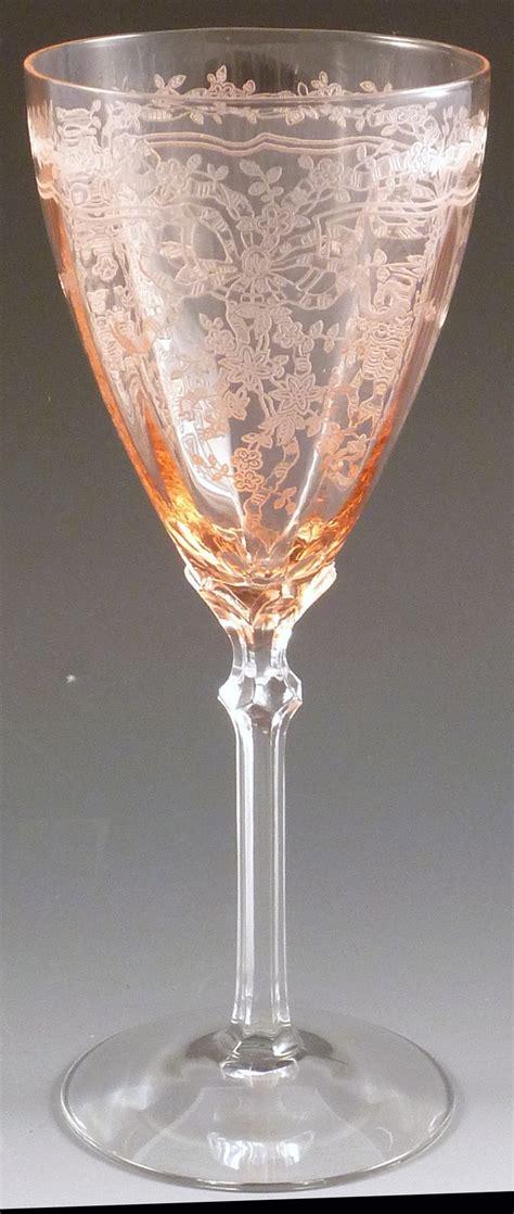 antique vintage art glass crystal glasses stemware 77 best etched vintage depression glasses images on