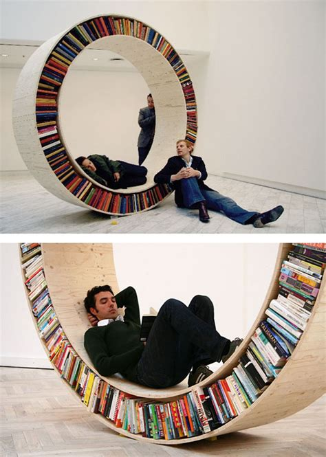 Creative Bookshelves by 50 Most Creative Bookshelves Designs Ever Instantshift