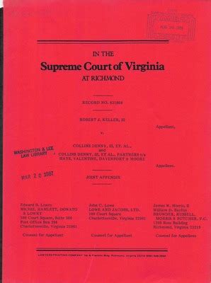 Washington County Va Court Records Virginia Supreme Court Records Volume 232 Virginia Supreme Court Records