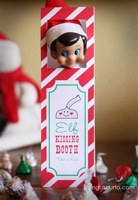 printable elf on the shelf kissing booth free printable elf on the shelf kissing booth share the